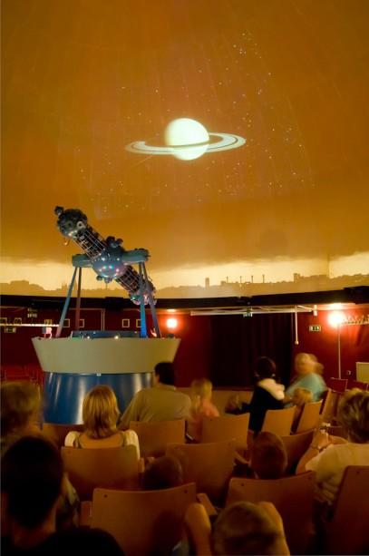 Saturn am Himmel