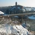 Blick auf die Giebichensteinbrücke
