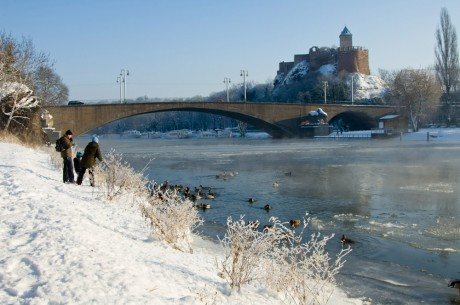 Riveufer im Winter