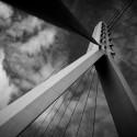 Pylonen der Berliner Brücke