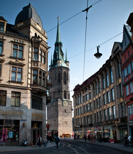 Rote Turm in Halle