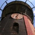 Der Wasserturm aus der Froschperspektive