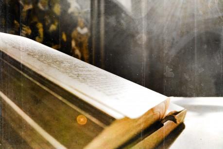 Bibel der Marktkirche