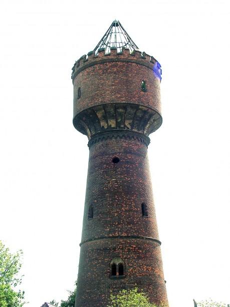 Der komplette Wasserturm