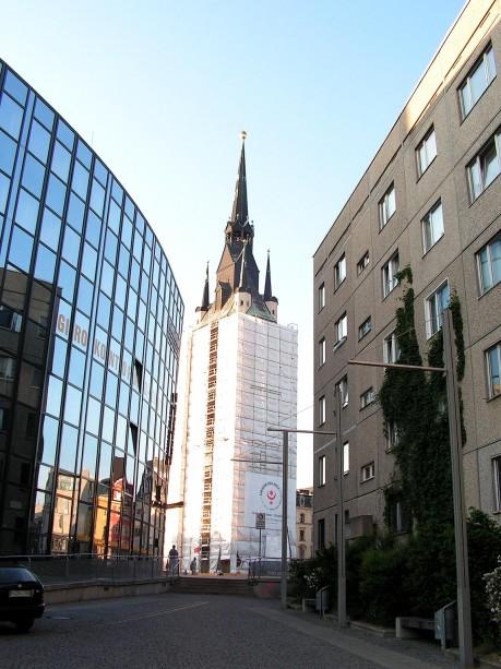 Der Rote Turm am Markt