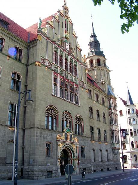 Fassade des Landgerichts