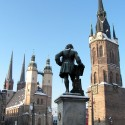 Händel und die fünf Türme in Halle