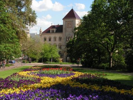 Hauptpost in Halle
