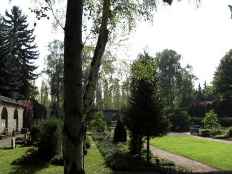 Das Kolumbarium auf dem Gertraudenfried