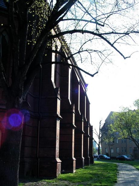 Seitenansicht Johanneskirche