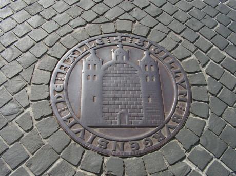 Sigillum Burgensium de Halle