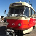 Alte Tatra-Straßenbahn