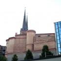 Türme der Marienkirche im Halle