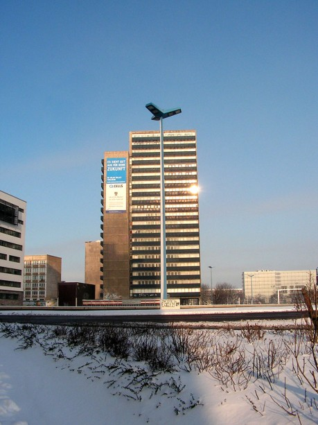 Turm am Riebeckplatz