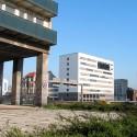 Turmsockel mit Säulen