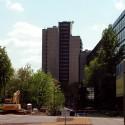 Turm vom Stadtpark aus