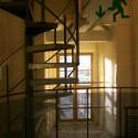 Wendeltreppe mit Fenster