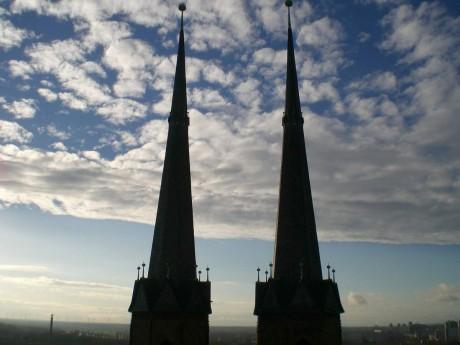 Westliche Türme der Marienkirche
